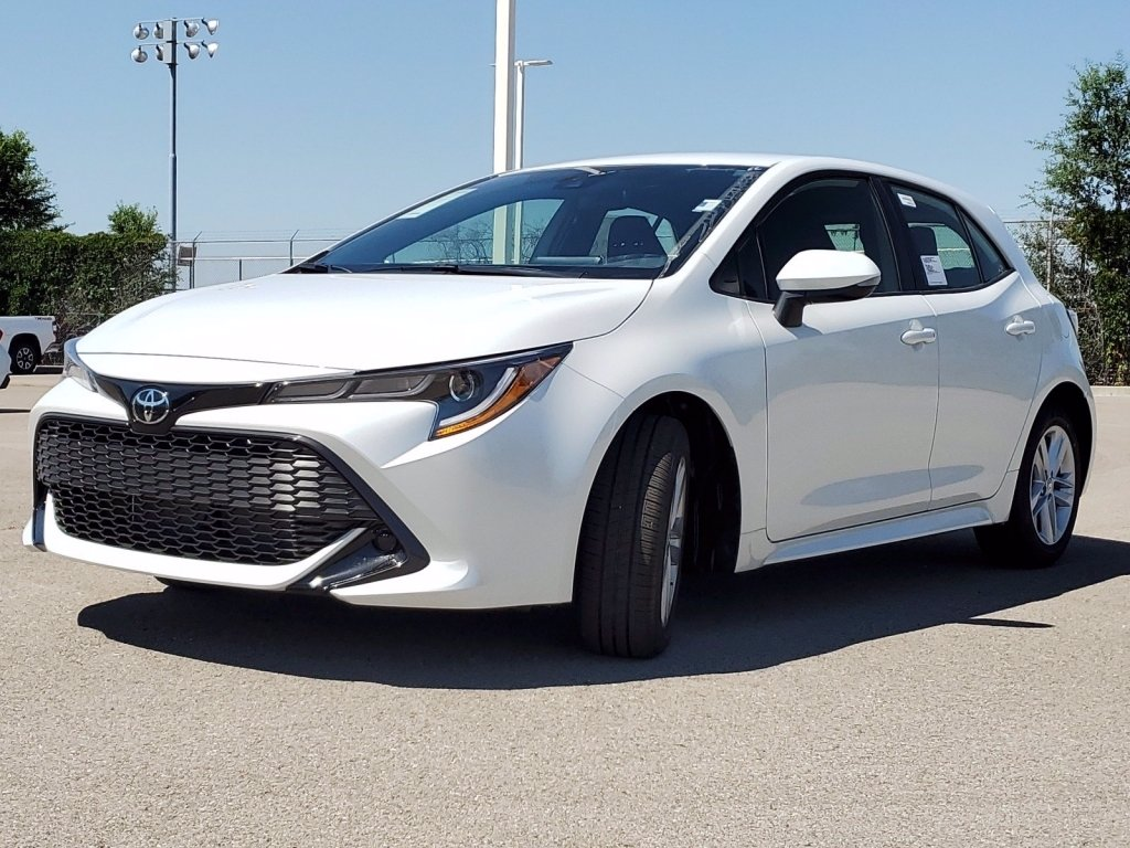 New 2021 Toyota Corolla Hatchback Nightshade